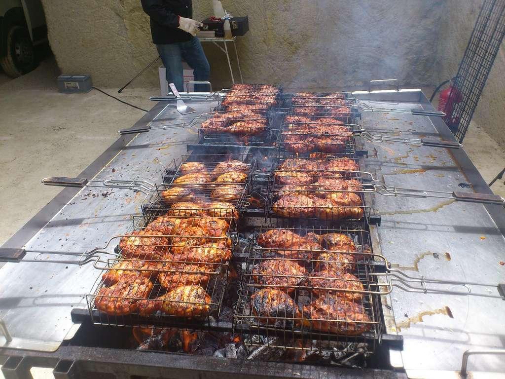 cuisine au feu de bois traiteur des gastronomes