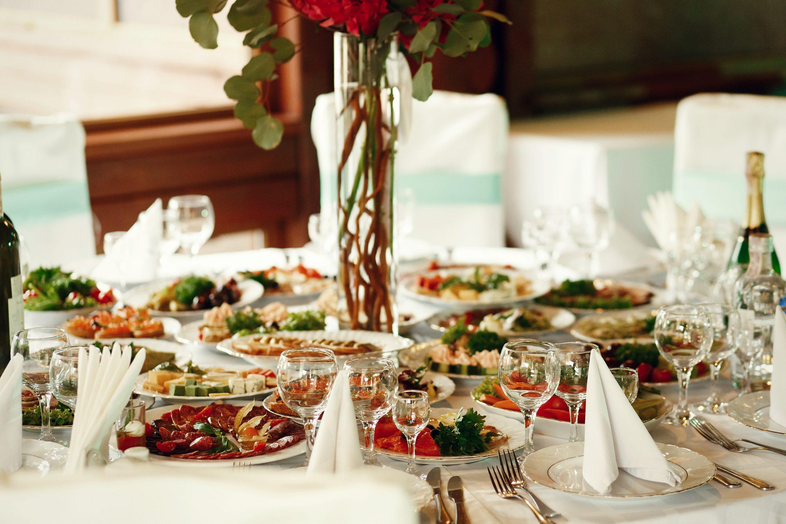 repas de mariage traiteur des gastronomes