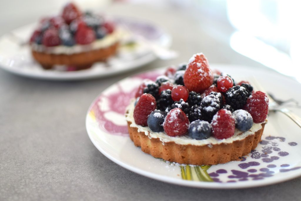 tarte aux fruits traiteur des gastronomes