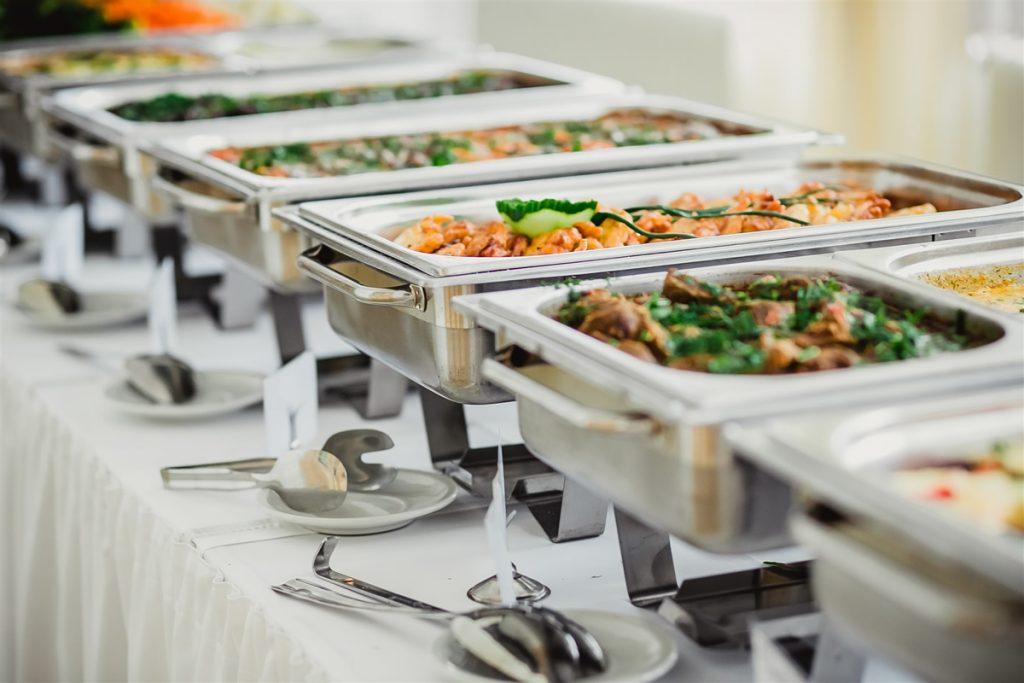 traiteur des gastronomes buffet chaud