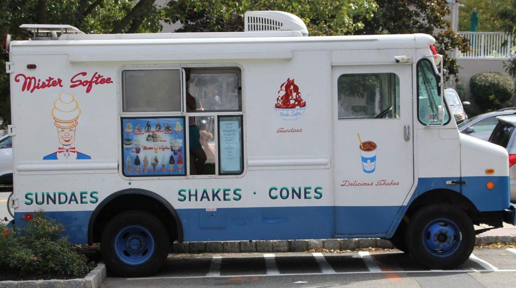 camion glaces traiteur des gastronome