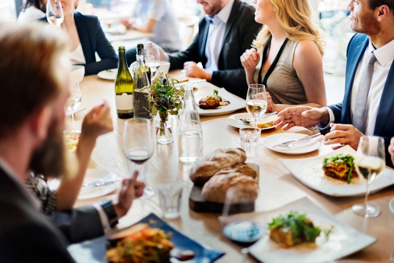 déjeuner d'affaires Traiteur des Gastronomes